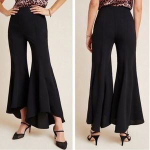 NWT Anthropologie Zinnia Flare Dress Pant Trousers